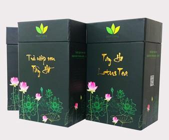 Hộp trà sen Tây Hồ