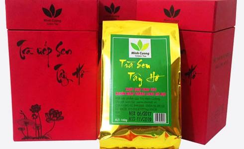 Cách phân biệt trà sen Tây Hồ thật và giả