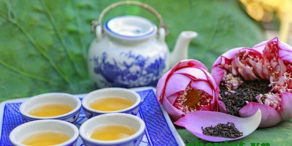 Khách Nhật tìm mua Trà sen Hồ Tây