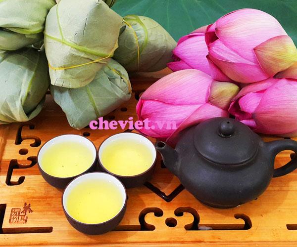 Trà ướp sen Hồ Tây Minh Cường là một thương hiệu uy tín