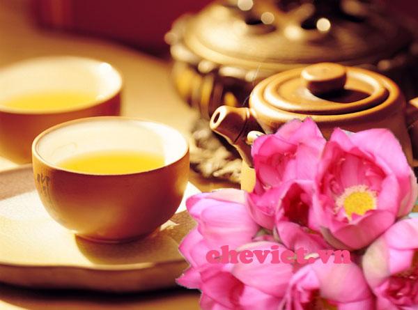 mua trà sen hồ tây Hà Nội