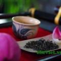 Thưởng thức trà sen Hồ Tây Hà Nội