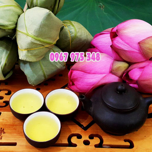 Sản phẩm trà ướp bông hoa sen tươi