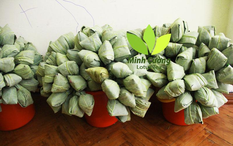 Sản phẩm trà bông sen Hà Nội