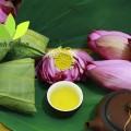 Chén trà sen Minh Cường thơm ngát hương sen