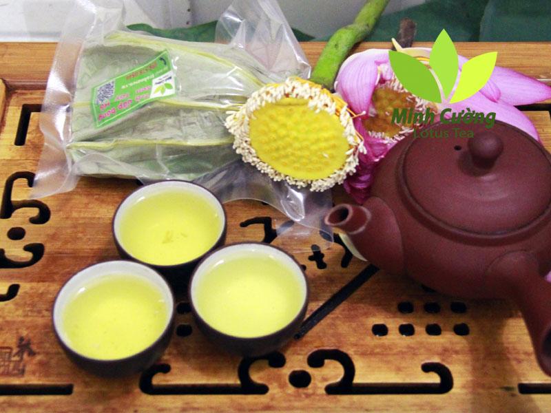 Sản phẩm trà sen Minh Cường