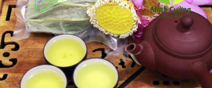 Chè trà ướp sen tại Quảng Ninh, Hải Phòng