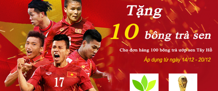 Cùng trà sen Minh Cường tự hào Việt Nam