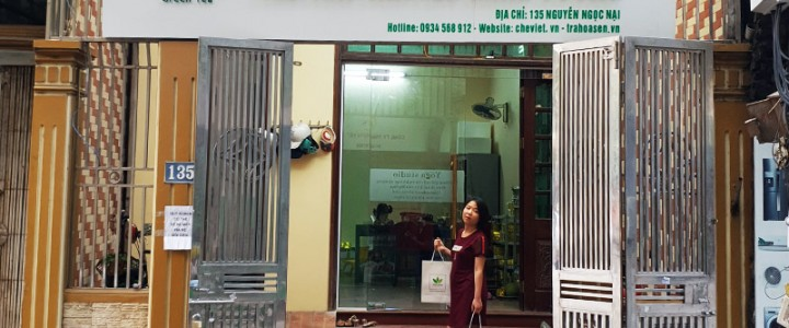 Trà sen Minh Cường chuyển cửa hàng về phố Nguyễn Ngọc Nại