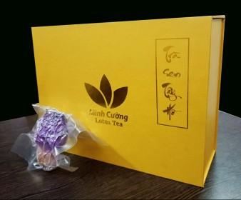 Hộp trà bông sen Tây Hồ cao cấp 20 bông